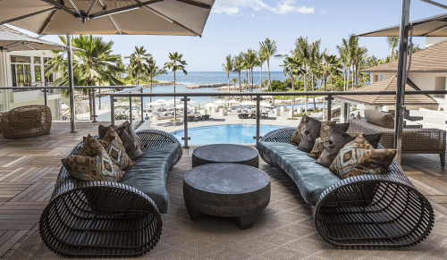 Couches & Sofas by Kenneth Cobonpue at Four Seasons Resort Oahu at Ko Olina, Kapolei - Lolah Sofa