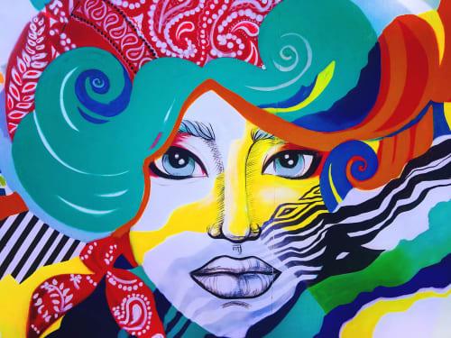 Dina Saadi - Street Murals and Public Art