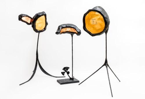 Lamps by Birnam Wood Studio seen at Birnam Wood Studio, Queens - Yo, Burri! Lamps
