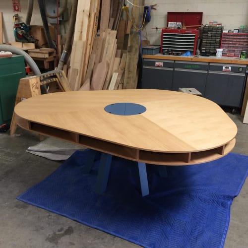 Tables By Michael O Connell Furniture Seen At Glell Park Los Angeles Clark