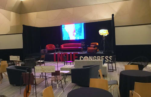 Independent Lodging Congress, in the William Vale NYC, Event Venues, Interior Design