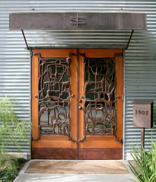Sculptures by Eric Powell seen at Shibumi Gallery, Berkeley - Shibumi Doors