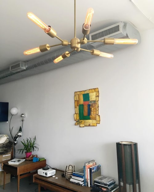 Pendants by studioPGRB at Private Residence, Brooklyn - Custom Light Fixture