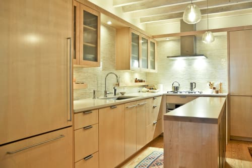 Furniture by Iannone Design seen at Lombard Street, Philadelphia - Kitchen Cabinets