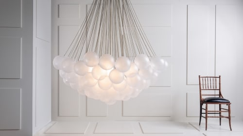 Lighting by Apparatus Studio at The Marlton Hotel, New York - Cloud Light Fixture