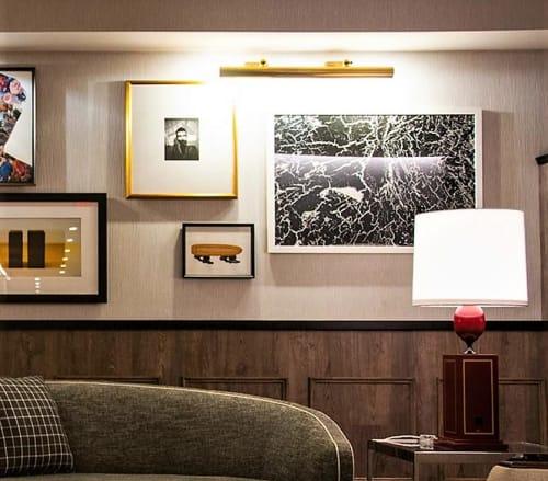 Paintings by Rajmohan Fotograf seen at Kimpton Mason & Rook Hotel, Washington - Ars Gratia Artis 148