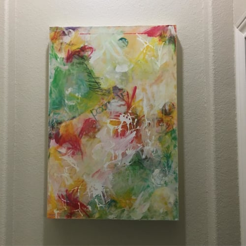 Paintings by Julie Shunick Brown seen at 9Round Fitness Fulshear Cinco, Katy - Painting