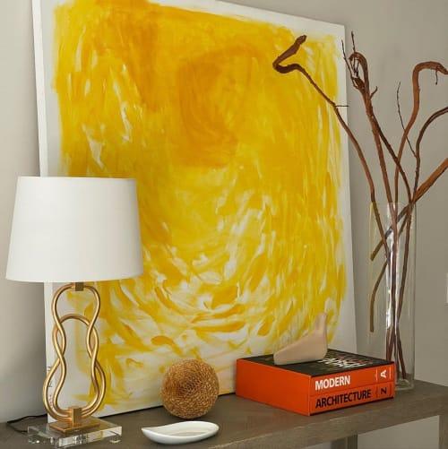 Paintings by Kari Kroll seen at The Berkshires, Sandisfield - Sunshine