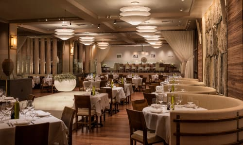 Avra Madison Estiatorio, Restaurants, Interior Design