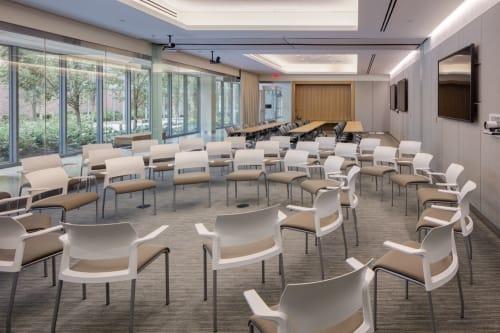 Johns Hopkins Hospital, Sheikh Zayed Tower, Public Service Centers, Interior Design