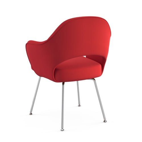 Chairs by Eero Saarinen seen at Untitled, New York - Red Saarinen Executive Arm Chair