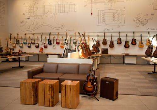 Fender Hollywood, Stores, Interior Design