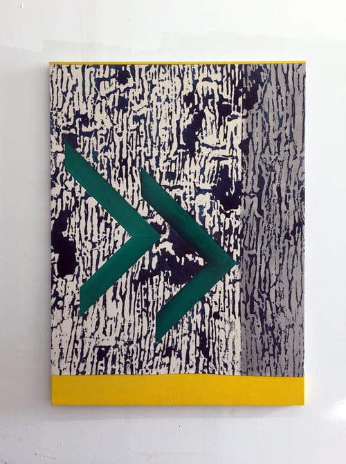 Paintings by Peter Warren at The William Vale, Brooklyn - Jumper 2015