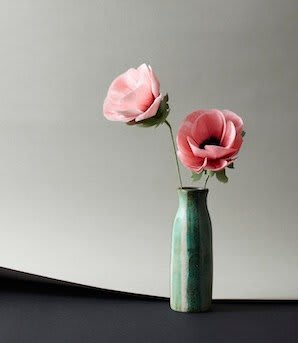 Floral Arrangements by The Green Vase by Livia Cetti seen at Nix, New York - Anemone Stem