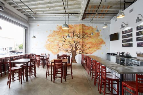 Laughing Monk Brewing, Bars, Interior Design