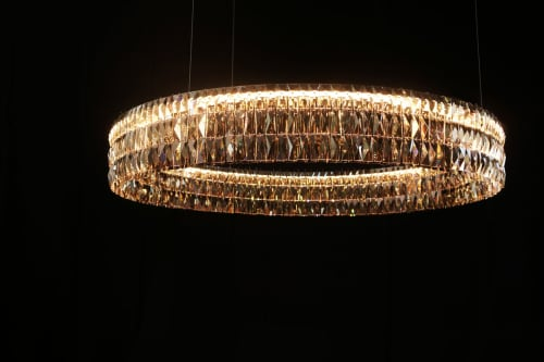 Chandeliers and Lighting by Georg Baldele