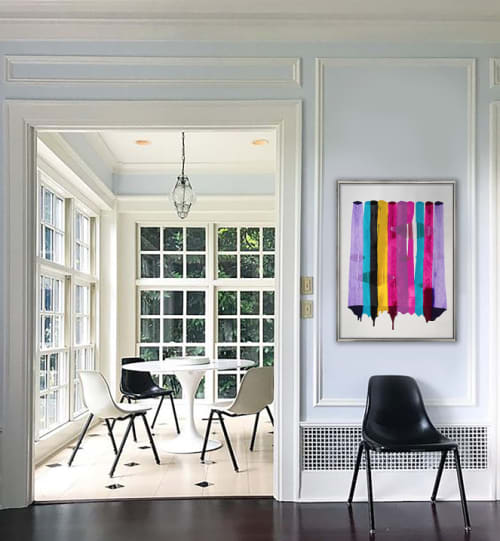 Paintings by Raül de la Torre seen at Private Residence, Baltimore - Fils I Colors CCCII