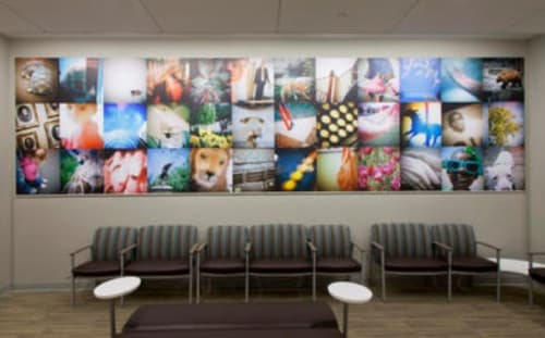 Photography by Richard Ross seen at Sidney & Lois Eskenazi Hospital, Indianapolis - It was just last year…