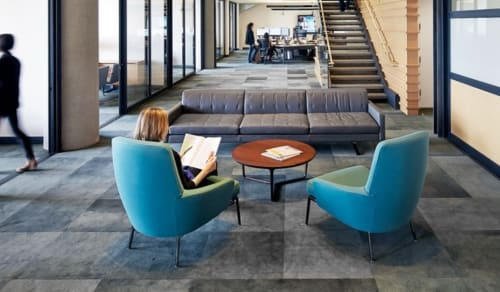 Chairs by Rodolfo Dordoni seen at ValueAct Capital, San Francisco - Armchairs