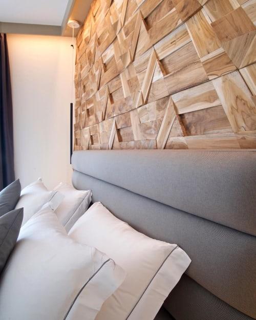 Wall Treatments by Wonderwall Studios seen at Lifestyle Room Binario Zero, Tirano - Jazz