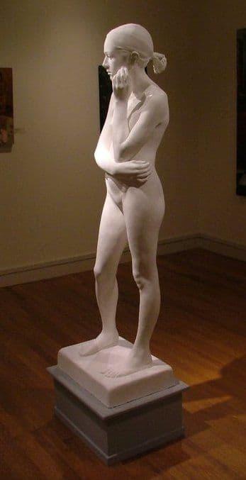 Sculptures by Emily Bedard seen at Lyme Academy of Fine Arts, Old Lyme - Metamorphosis