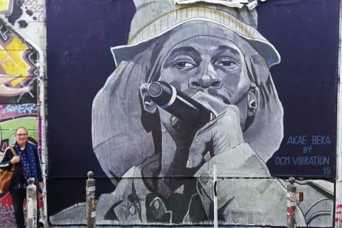 Street Murals by OCM Vibration - Akae Beka Mural