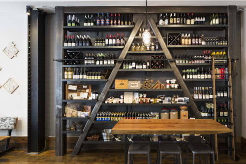 Furniture by Gi Paoletti Design Lab seen at Homage SF, San Francisco - Custom Shelving