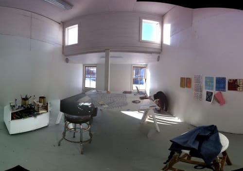 Vermont Studio Center, Public Service Center, Interior Design