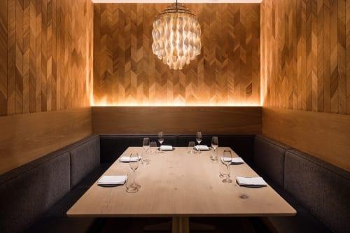 Lighting by Verner Panton seen at Agern, New York - Spiral Lamp SP Series