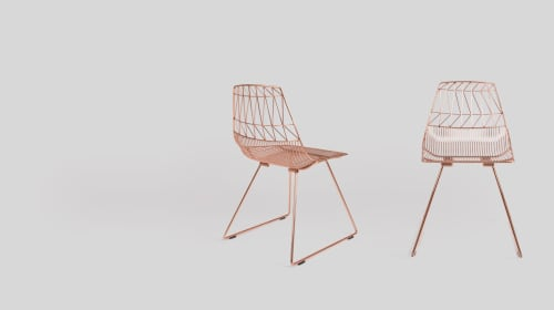 Chairs by Bend Goods seen at Fullscreen, Playa Vista, CA, Los Angeles - The Lucy Chair