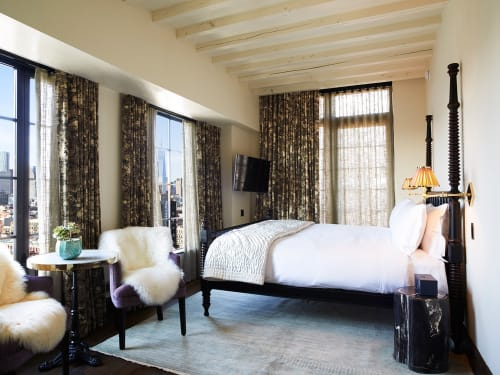The Ludlow Hotel, Hotels, Interior Design