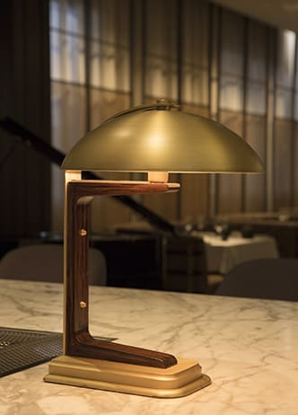 Lighting by AvroKO seen at Bourbon Steak, Glendale - Custom Light Fixtures