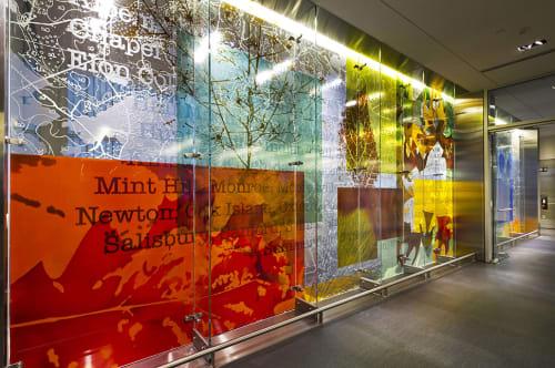 Art & Wall Decor by Martin Donlin seen at Raleigh–Durham International Airport, Morrisville - Metamorphosis