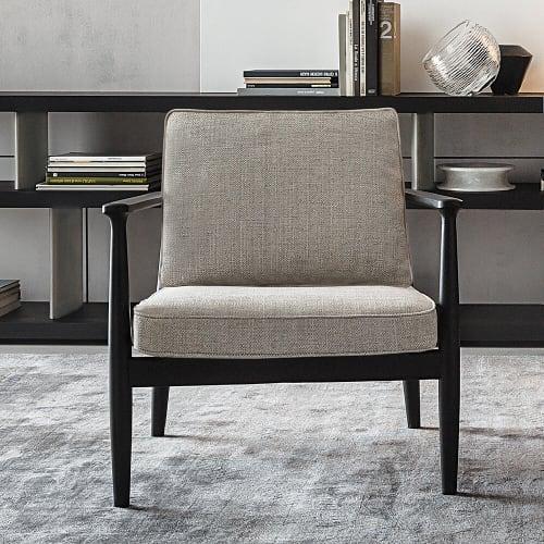 Chairs by Roberto Lazzeroni seen at Lazzeroni Studio, Cascina - Arne Armchair