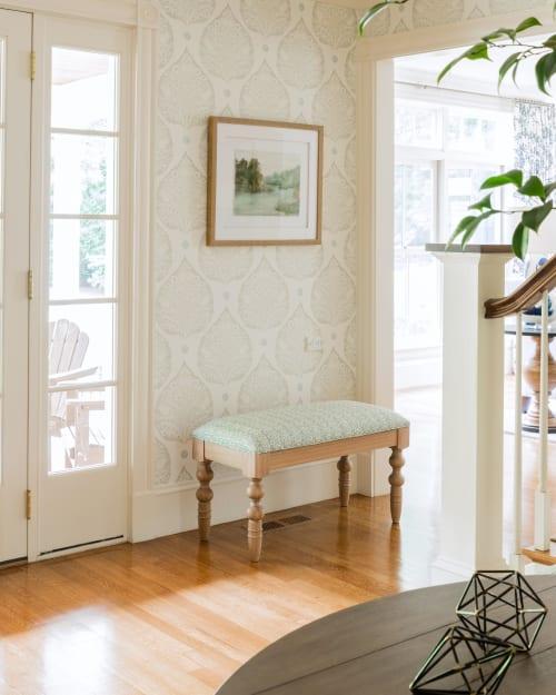 Interior Design by Meredith Rodday Design seen at Plain Road, Wayland - Interior Design