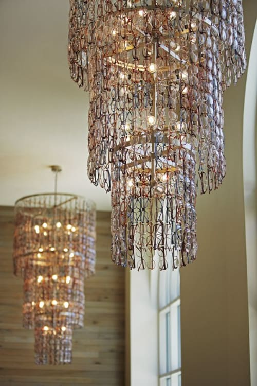 Chandeliers by Lighting Designs Inc. seen at Hotel Zetta, San Francisco - Customized Chandelier