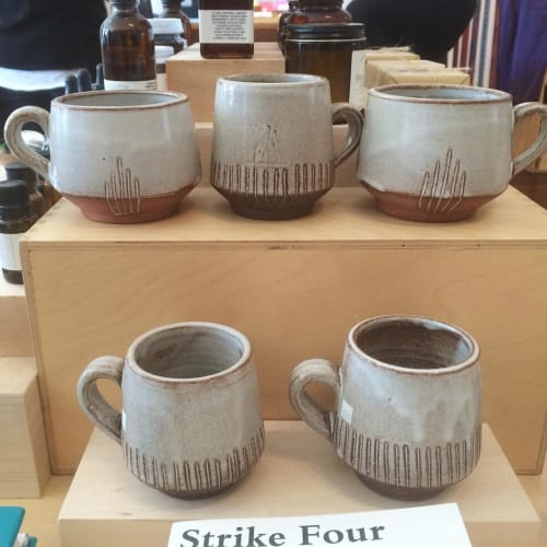 Tableware by Sarah Duyer seen at Needles & Pens, San Francisco - Mugs