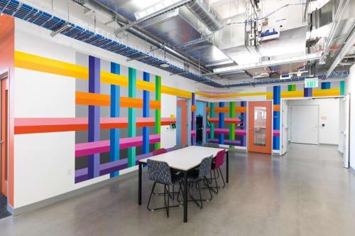 Art & Wall Decor by Andrew Huffman seen at Facebook Denver Office, Denver - Mural