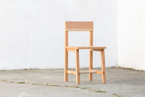 Chairs by Four / Quarter at Little Gem, San Francisco - Dowel Dining Chair