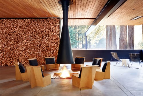 Chairs by Alexis Moran seen at AutoCamp Russian River, Guerneville - Lounge Chair
