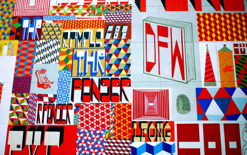 Barry McGee - Public Mosaics and Art