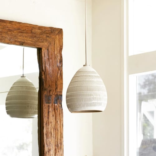 Pendants by Mt Washington Pottery (Beth Katz) seen at Private Residence, Los Angeles - Pendant Lamp