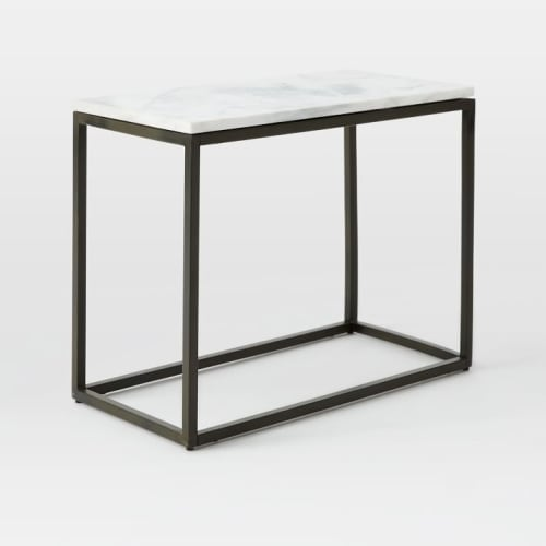 Tables by West Elm seen at JW Marriott Essex House New York, New York - Box Frame Narrow Side Table