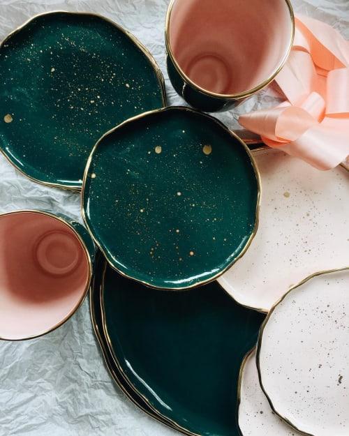 Ceramic Plates by Rozenthal Ceramics Studio seen at Private Residence, Helsinki - Handmade Plates