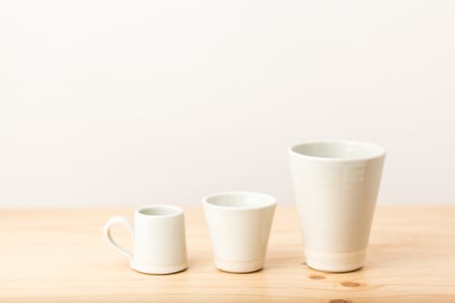 Tableware by Nobuhitu Nishigawara seen at Dinosaur Coffee, Los Angeles - Ceramic Mug
