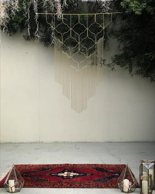Art & Wall Decor by Beth Naumann seen at Shelldance Orchid Gardens, Pacifica - Wedding Backdrop
