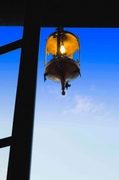 Lighting by Julian Schnabel seen at Gramercy Park Hotel, New York - Baroque Lantern
