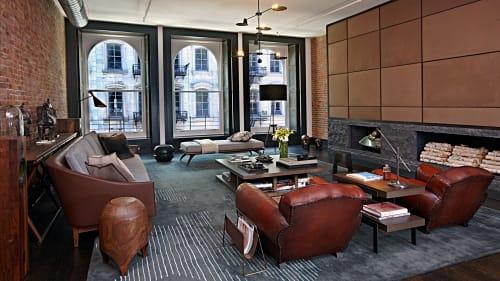 Interior Design by Scarpidis Design seen at Tribeca Loft, New York - Interior Design