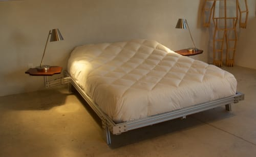 Beds & Accessories by Allan Packer Studio seen at The Atomica, Taos - Bed
