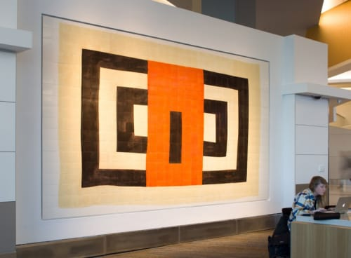 Wall Hangings by Louisiana Bendolph at San Francisco International Airport, San Francisco - New Generation